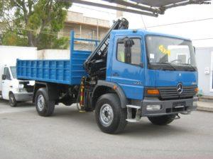 Mercedes-Benz ATEGO 4X4 1225 AF 2001